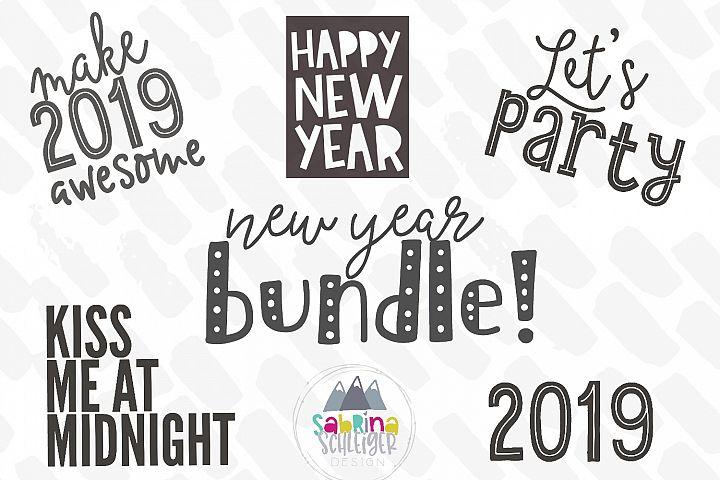 New Year SVG Bundle