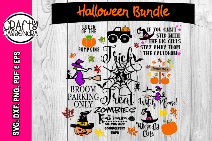 Halloween SVG - Halloween bundle - Spider web - bat svg