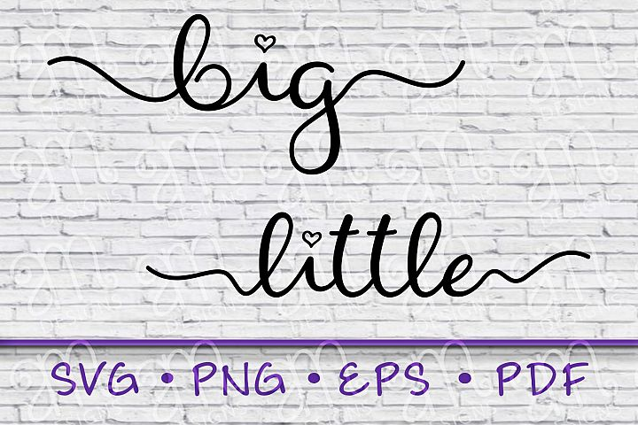 Big Little Shirts, Big Little Svg, Big Svg, Little Svg, Big