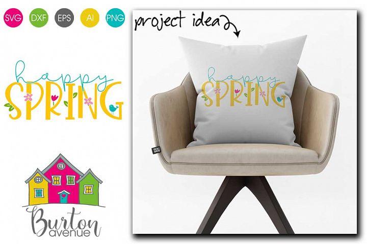 Happy Spring SVG file for Spring