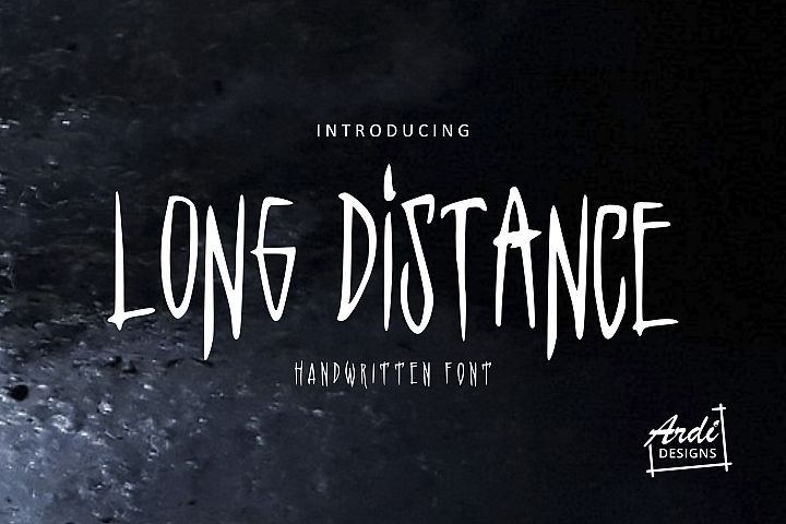 Long Distance Font