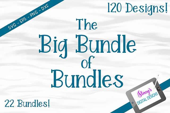 The Big Bundle of Bundles - 120 SVG files from 22 bundles