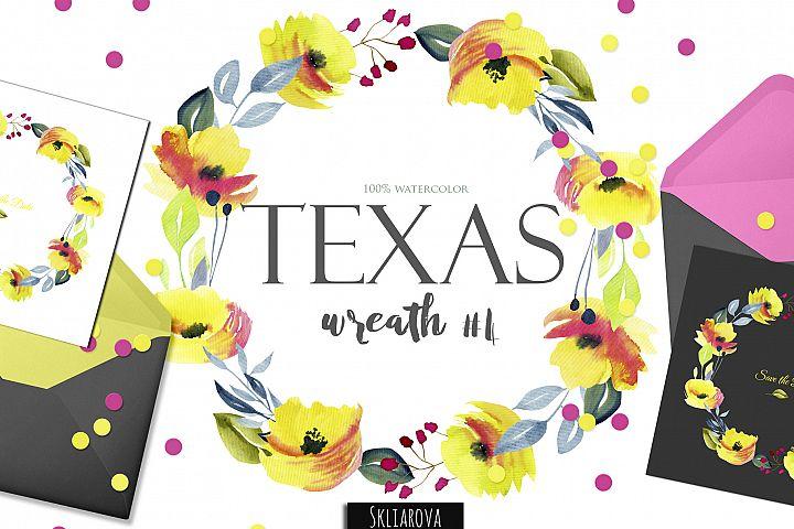 Texas. Wreath #4
