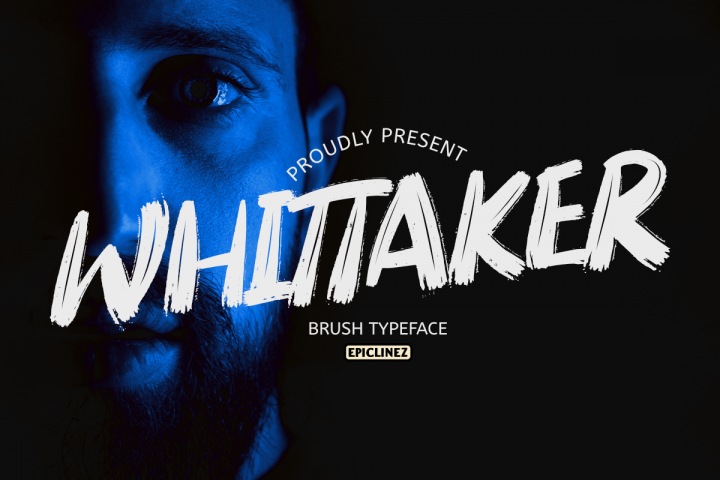 Whittaker - A Brush Typeface