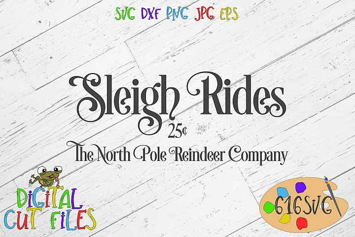 Sleigh Rides SVG