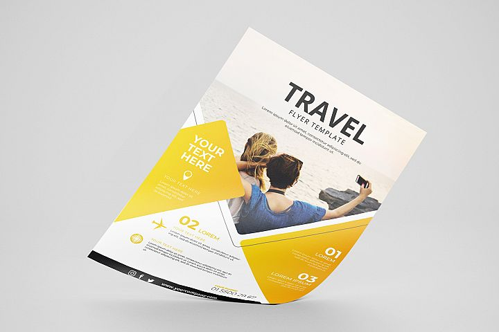 Travel Flyer Vol. 01