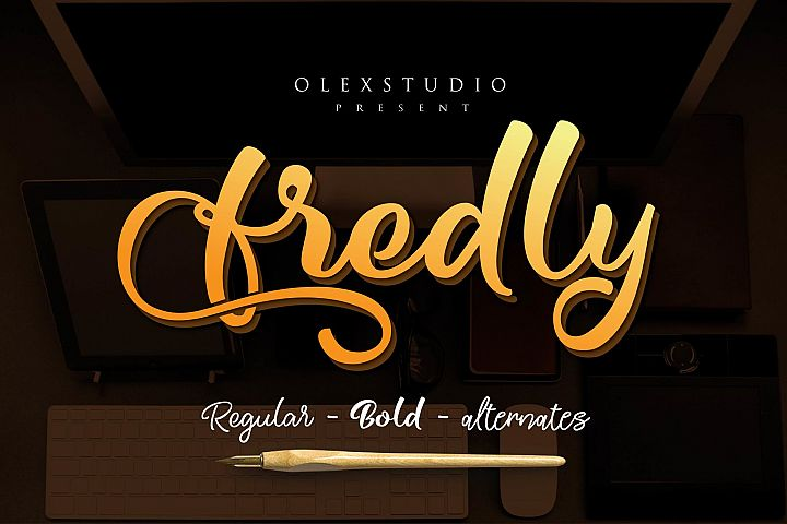 Fredly Modern Typeface - Free Font of The Week Font
