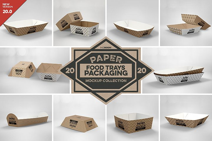 VOL. 20 Paper Box Packaging Mockups