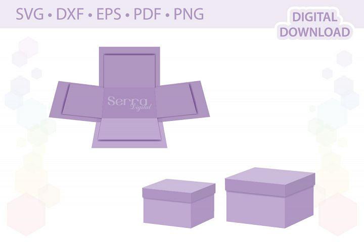 Rectangular Explosion Boxes cut file