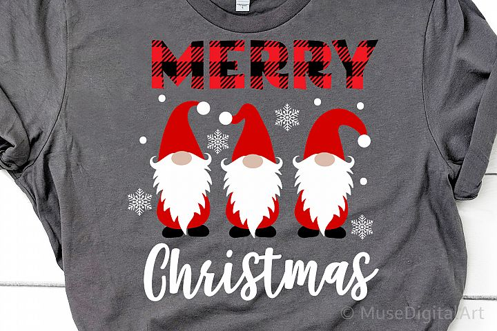 Merry Christmas Svg, Christmas Gnomes Svg, Cute Gnomies Svg