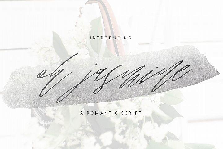 Oh Jasmine Signature Script