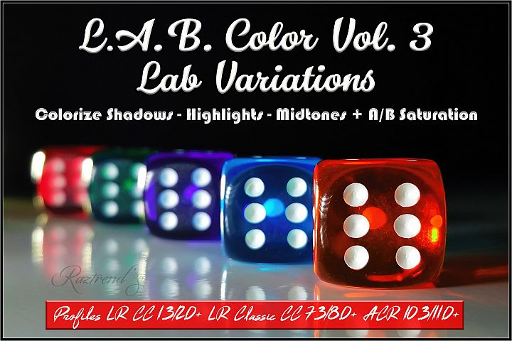 LAB Color Vol. 3 - Lab Variations profiles LR ACR