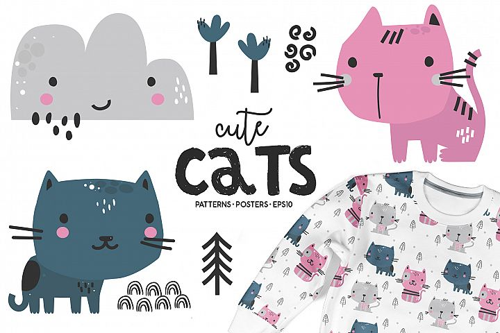 Cute Cats - Kids Bundle