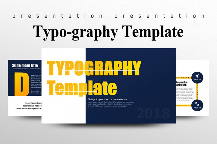 Typography Presentation Template