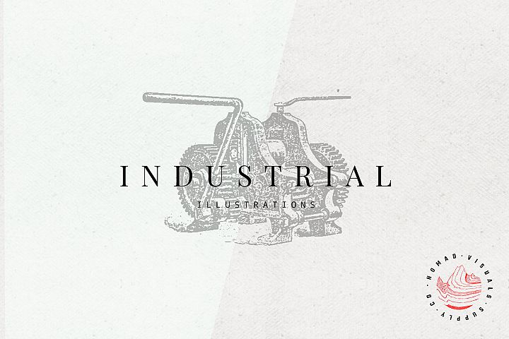 Premium Industrial Illustrations