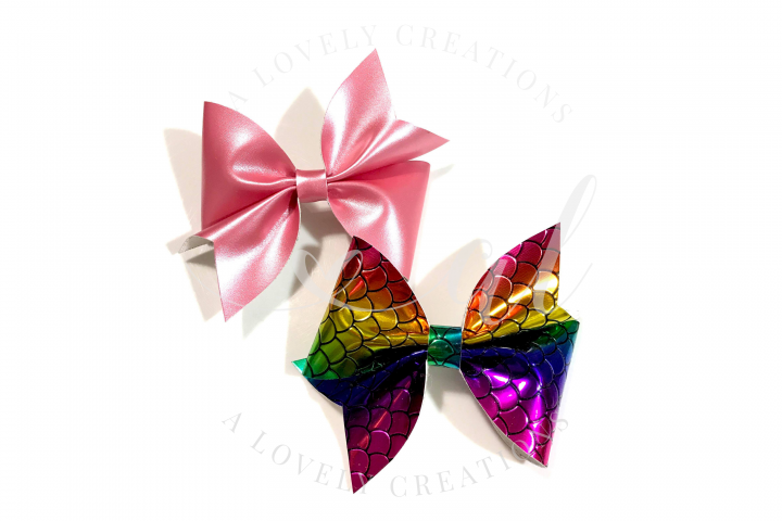 ALICIA Pinch Bow - Hair Bow Digital Template
