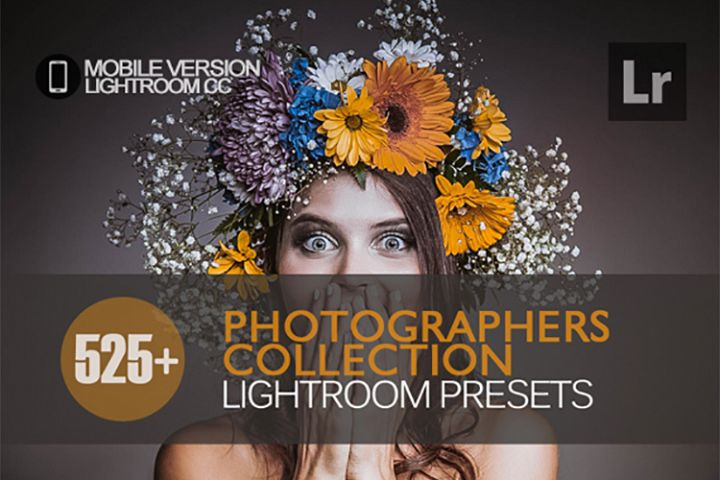 525 Photographers Collection Lightroom Mobile bundle Presets
