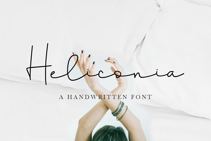 Heliconia Script Font