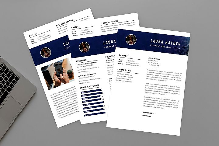 CV Contrast Resume Designer