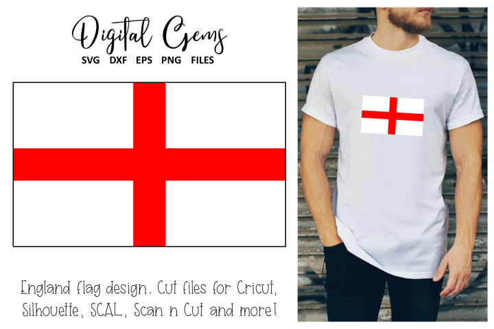 England Flag SVG / PNG / EPS / DXF files