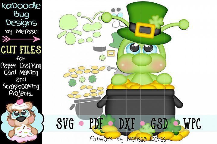 Pot Of Gold Cricket Cut File - SVG PDF DXF GSD WPC