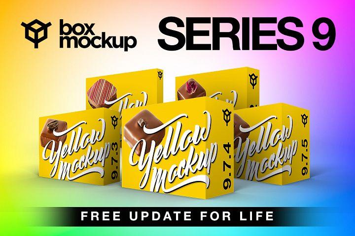 BoxMockup Series 9 Bundle