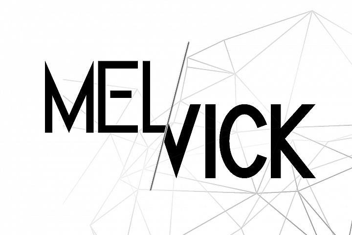 Melvick - 12 Font Family & EXTRA LOGO