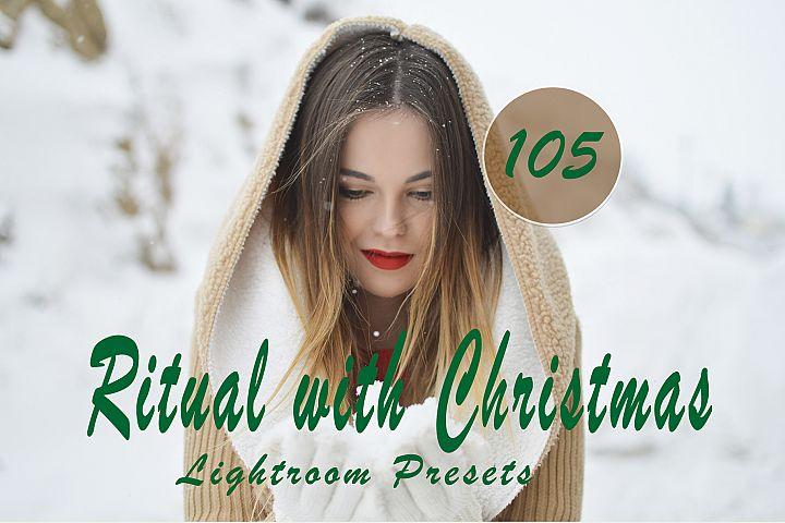 Ritual with Christmas Lightroom Presets