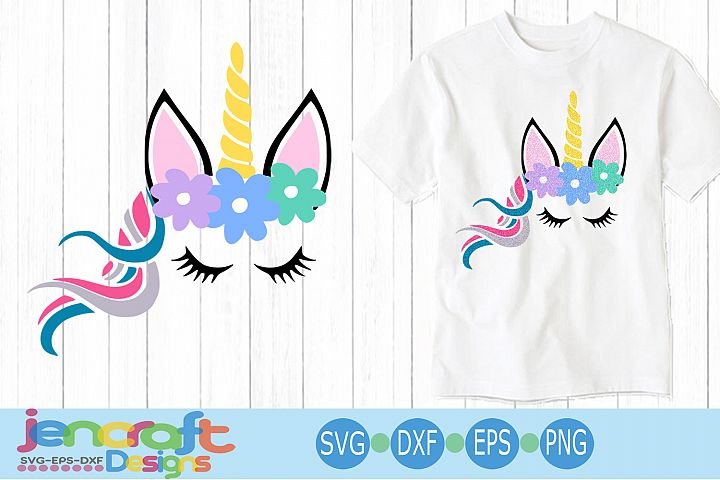 unicorn svg Girl svg, eps, dxf