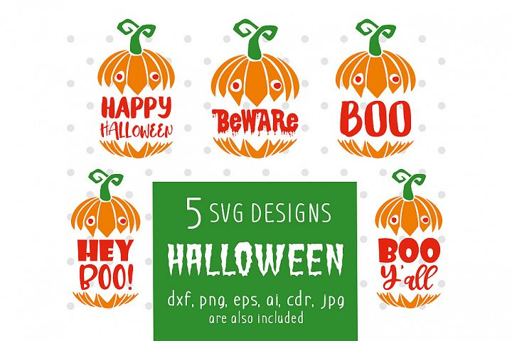 Halloween Bundle - svg, eps, ai, cdr, dxf, png, jpg