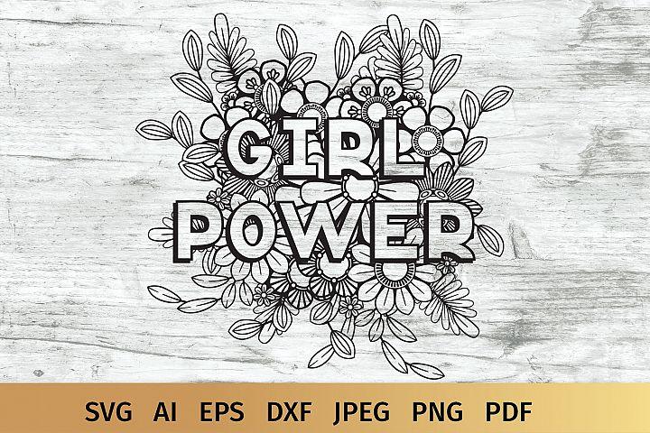 Girl Power SVG