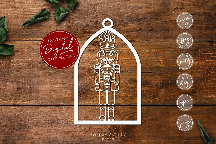 Nutcracker Decoration No.3 - SVG EPS DXF PNG PDF JPG