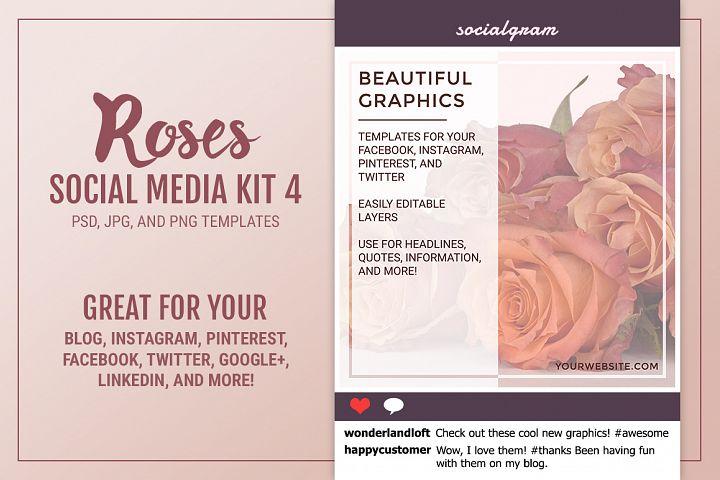 Roses Social Media Kit 4