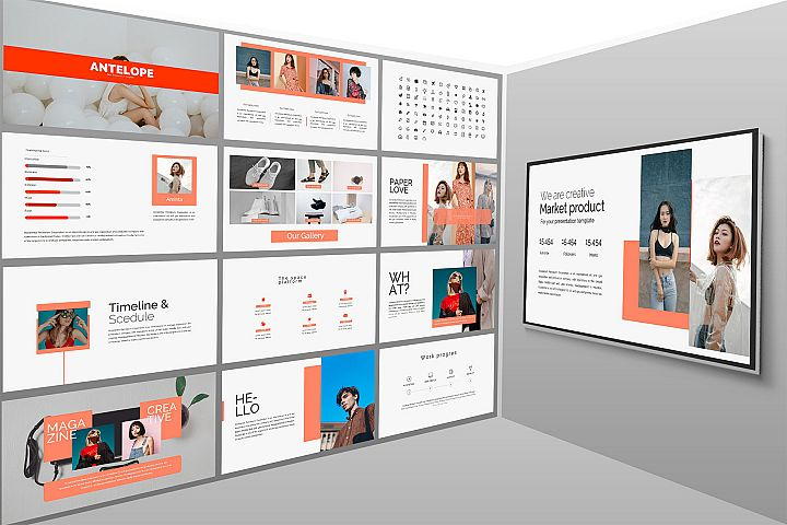 Antelope Lookbook Keynote Template