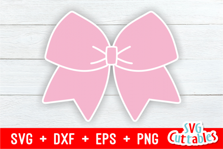Cheer Bow svg | Cheerleader | Cut File