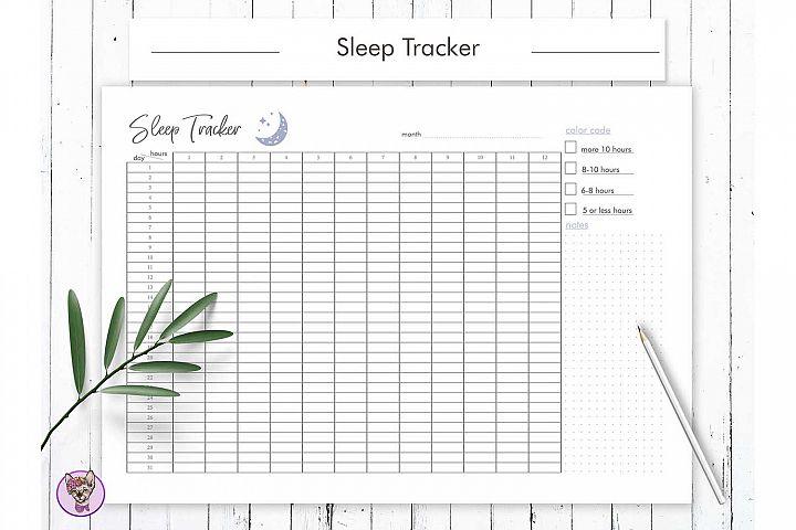 Sleep Tracker Printable