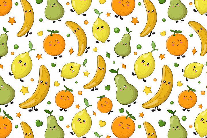 Cute fruit patterns