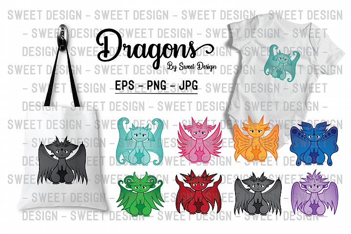 Cute little dragons