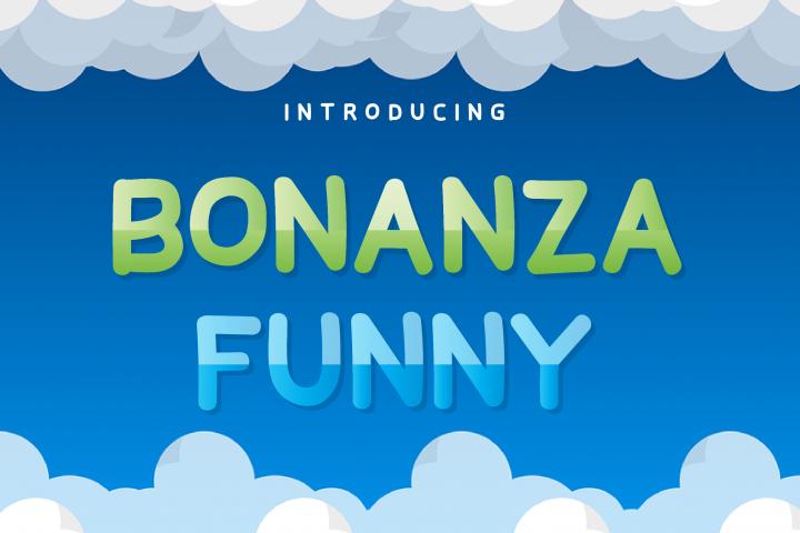 Bonanza Funny Display Font