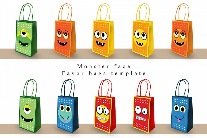 Favor Bag Template | PDF | PNG | JPEG