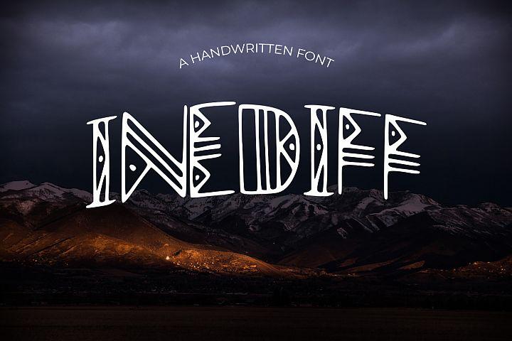 Inediff Font