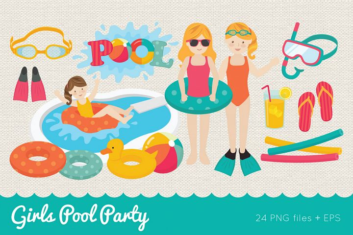 Girls Pool Party
