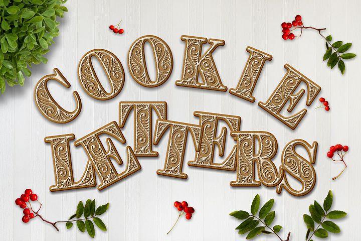 Cookie Alphabet ClipArt