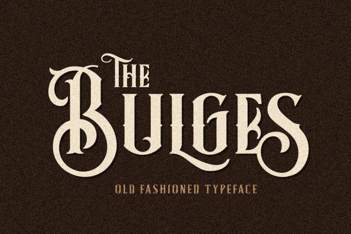 Bulges Typeface