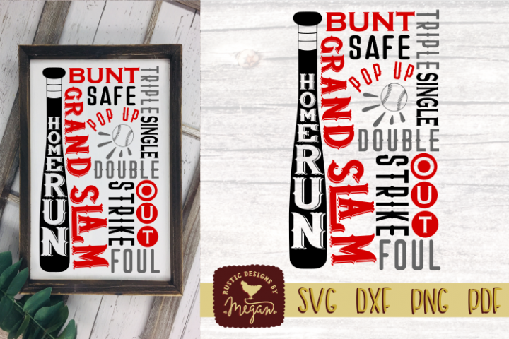 Baseball Subway SVG DXF Comm Cut file