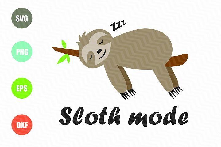 Sloth Mode SVG