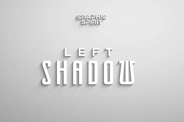 Laconic Long Shadow for Photoshop example 2