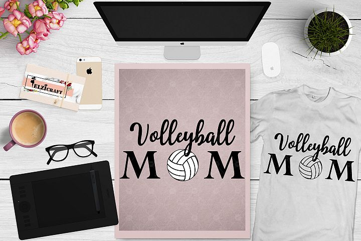Volleyball mom, Mom Life, Mommy, Mom Squad SVG Cut File