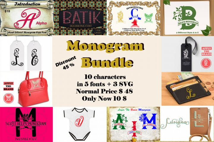 Monogram Bundles