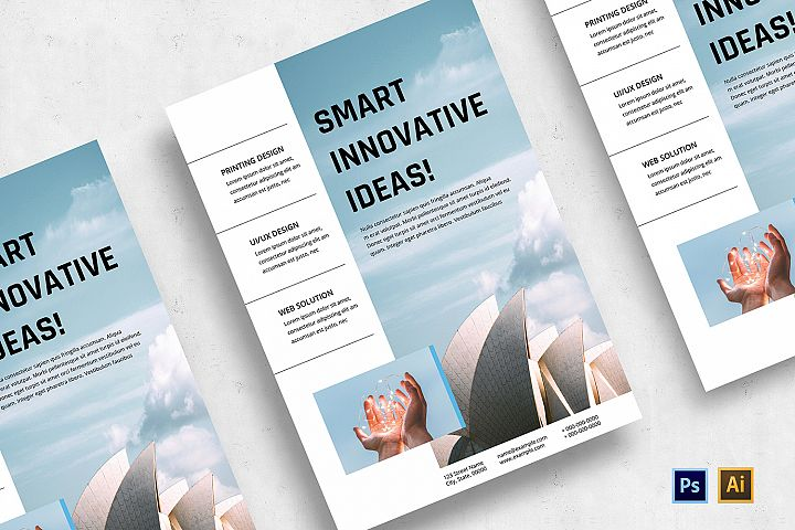 Minimalist Business Flyer-v04